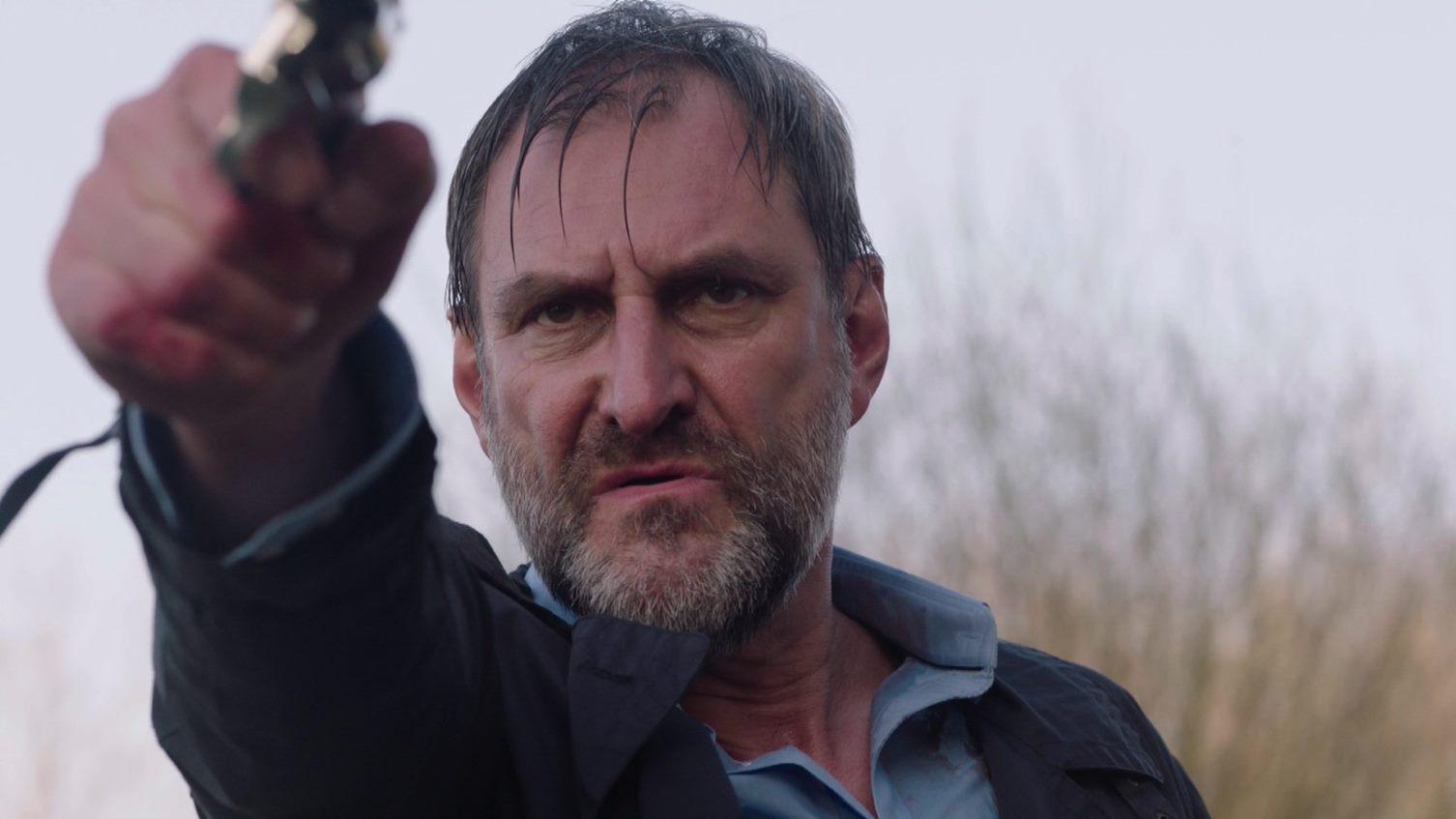 Het laatste actiebeeld van Jacques (Peter Van de Velde) in de seizoensfinale van 'Thuis'.