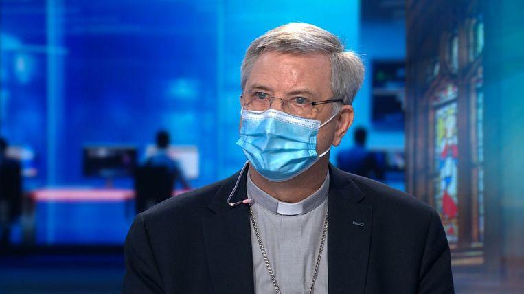 Bisschop Johan Bonny. Beeld VTM NIEUWS