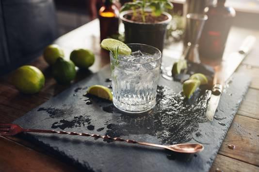 Gin-tonic.