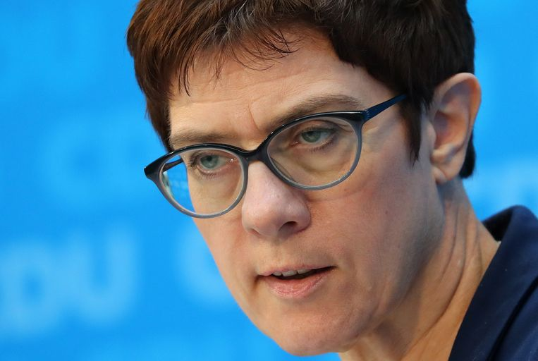 Annegret Kramp-Karrenbauer. Beeld EPA