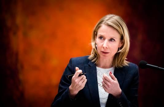 Staatssecretaris Stientje van Veldhoven van Infrastructuur en Waterstaat (D66).