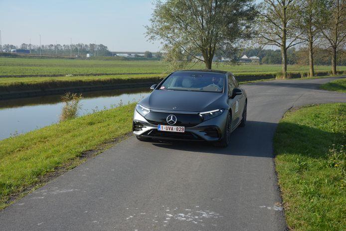 Mercedes EQS Zoute Grand Prix