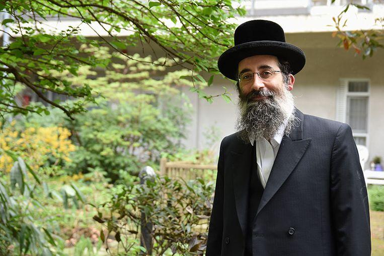 Aron Berger. Beeld Joods Actueel