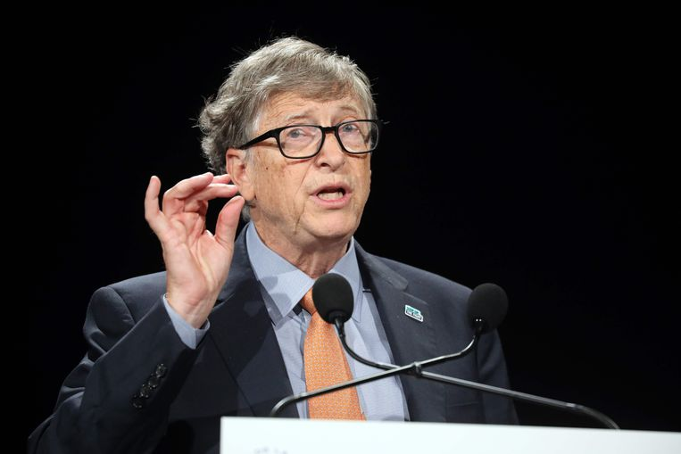 Microsof-oprichter Bill Gates bestrijdt met zijn stichting malaria en tropische diarree. Beeld AFP