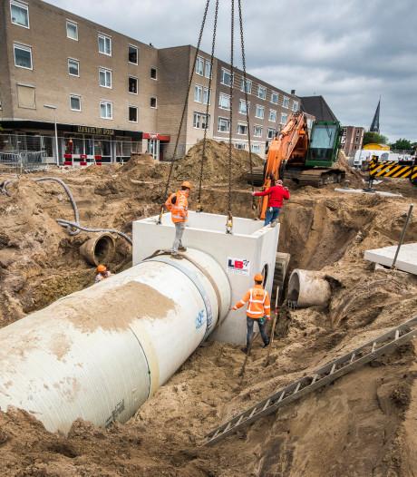 Project Oldenzaalsestraat in Enschede: werken aan droge binnenstad