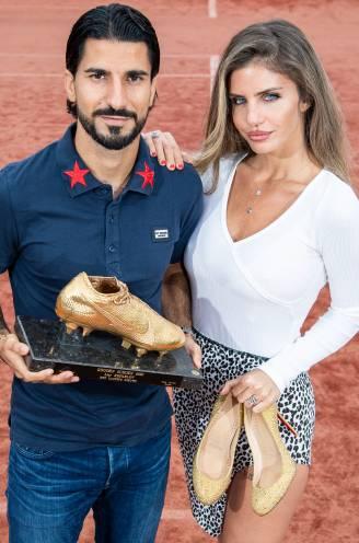 """Refaelov en vrouw Gal blinken, daags nadat Israëliër Gouden Schoen kreeg: """"Een droom om zo'n moment te beleven met onze kinderen"""""""