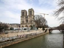 Première étape symbolique pour la reconstruction de Notre-Dame