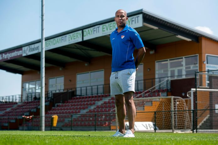 SC Doesburg-trainer Giovanni Zweers.
