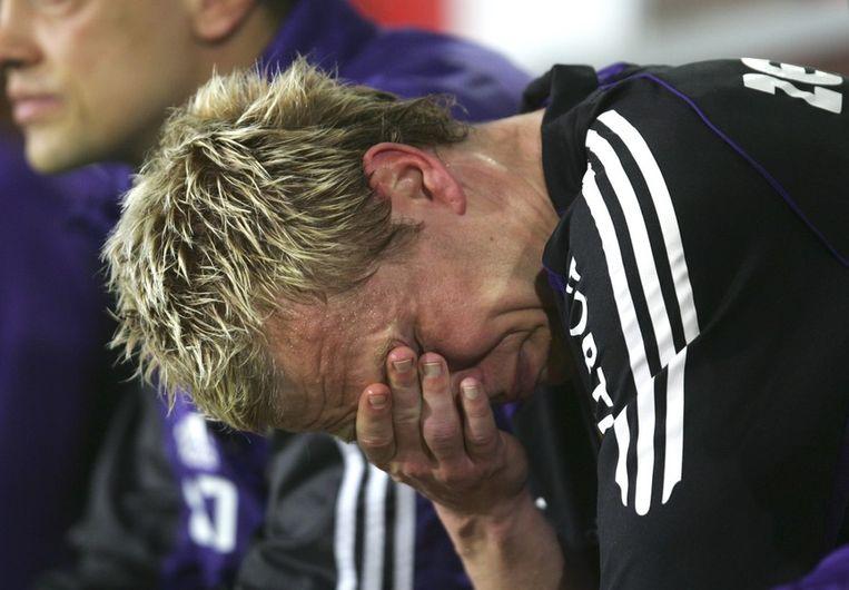 Bij zijn afscheid in 2006 kon de sympathieke Zweed het niet droog houden.
