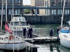 Brandweer ruimt mazoutspoor op water in jachthaven