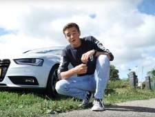19-jarige Youtuber uit Oude Wetering viert zijn succes met een Audi A4