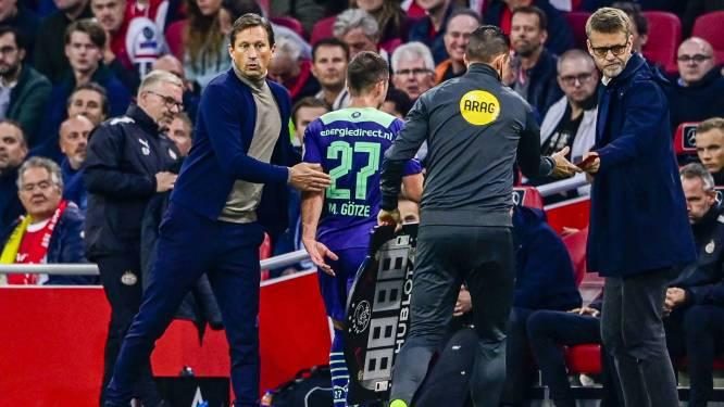 PSV presteert onder de maat onder Schmidt