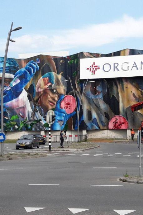 'Cultuurbarbaren', 'welke lomperik heeft dit bedacht?' Harde kritiek op megalogo voor Doesburgs kunstwerk