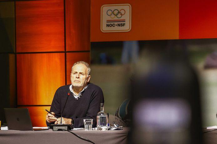 Algemeen directeur van NOC*NSF, Gerard Dielessen.