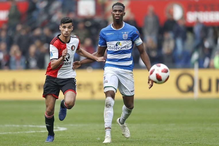 Mo el Hankouri, hier nog in Feyenoord-shirt. Beeld ANP Pro Shots