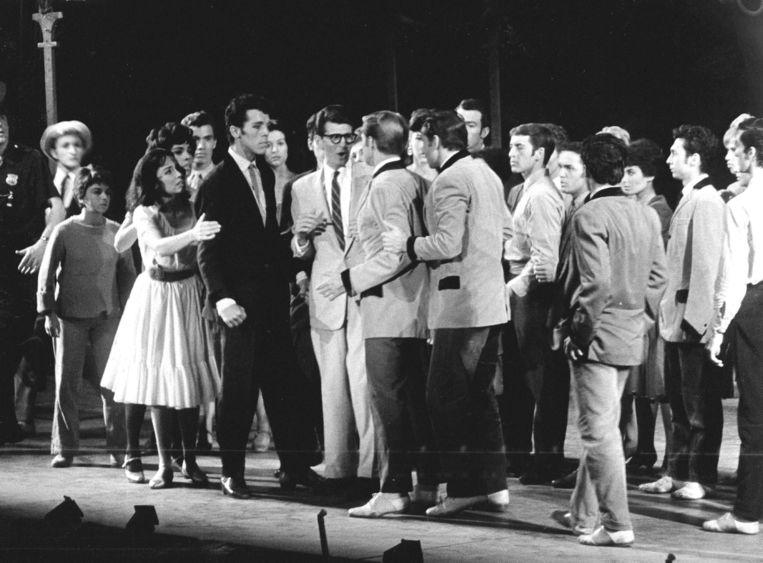 Een opvoering van West Side Story in 1961. Beeld ANP