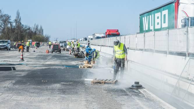 20% minder ongevallen aan werken op E17 in Gentbrugge, maar nog te veel laagvliegers