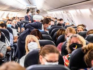 """Studie: """"Passagiers in vliegtuigen kunnen ondanks alle voorzorgsmaatregelen toch besmet raken"""""""