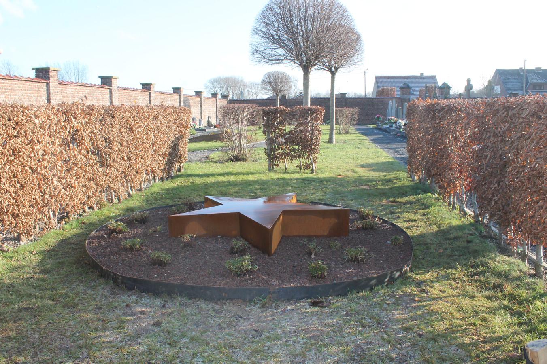 Op diverse begraafplaatsen is er al een sterretjesweide.