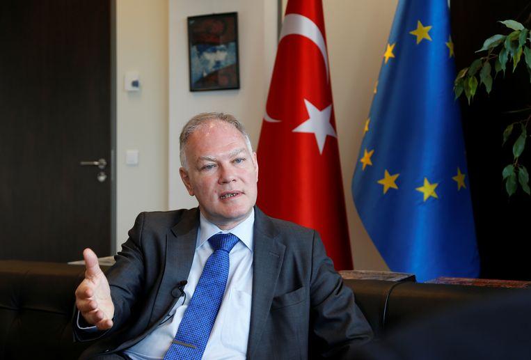 Selim Yenel: Turkije werkt aan charmeoffensief Europa.  Beeld REUTERS