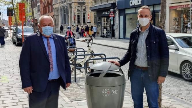 800 nieuwe vuilnisbakken in Roeselaars straatbeeld