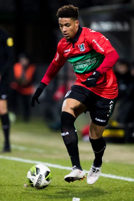 NEC'er Groeneveld scoort bij debuut voor Jong Oranje
