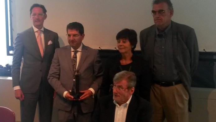 Afshin Ellian is de winnaar van de Pim Fortuyn Prijs.