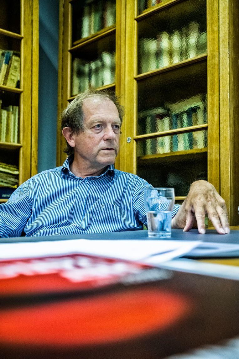 Rik Torfs: 'Vroeger moraliseerde de kerk en probeerde de samenleving daaraan te ontsnappen. Nu kan ze niet meer geloofwaardig moraliseren maar is de samenleving weer erg moraliserend.' Beeld Tim Dirven