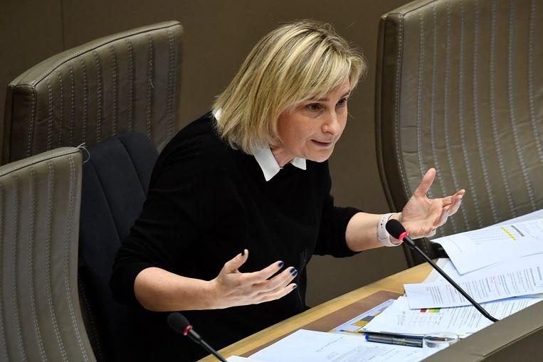 Hilde Crevits, Vlaams minister van Onderwijs (CD&V). Beeld BELGA