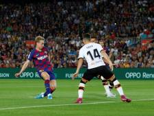De Jong tekent voor eerste treffer bij Barcelona
