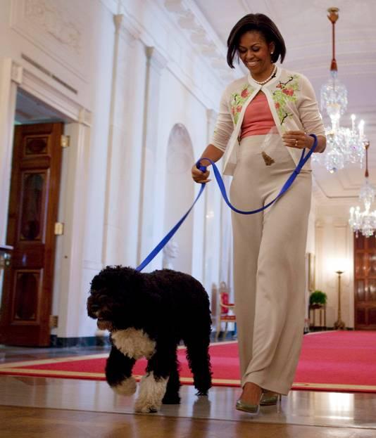 Michelle en Bo.