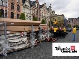 AB InBev doet eigen Tournée Générale met parasols op Leuvense Oude Markt: zelfs cafés die geen klant zijn bij hen krijgen er eentje