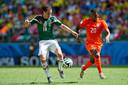 Het shirt waarin Oranje op het WK 2014 speelde.