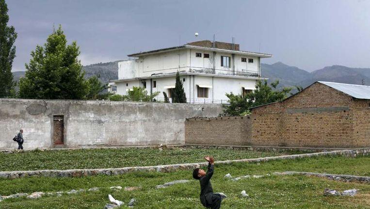 Het onderkomen van Bin Laden in Abbottabad Beeld reuters