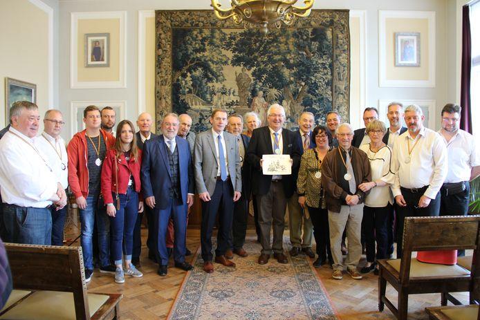 De Koninklijke Harmonie Sint-Cecilia viert haar 225ste verjaardag.