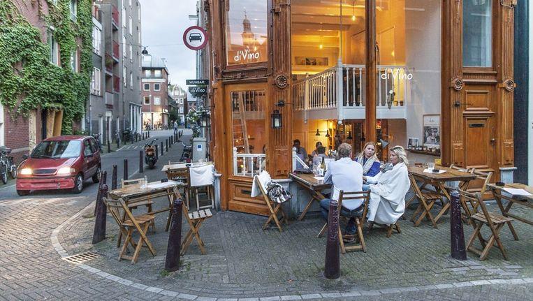 DiVino in de Boomstraat. Beeld Marc Driessen / www.marcdrieesen.nl