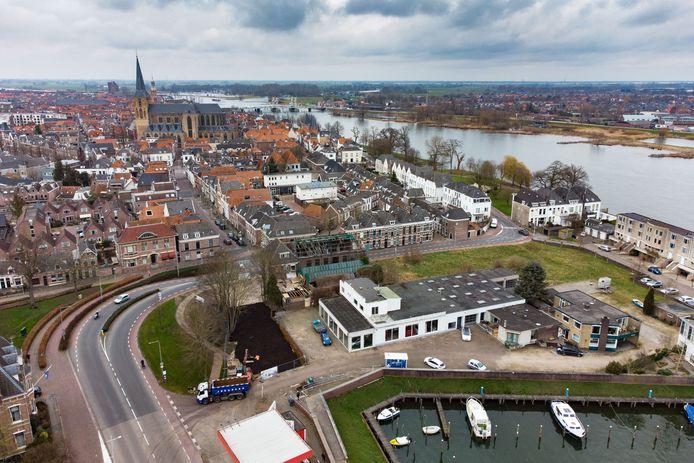 Er moeten monumentale huizen komen langs de Bovenhaven, vindt de buurt.