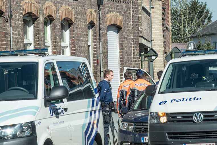 In de Alfred Amelotstraat kon de politie de man in de boeien slaan.
