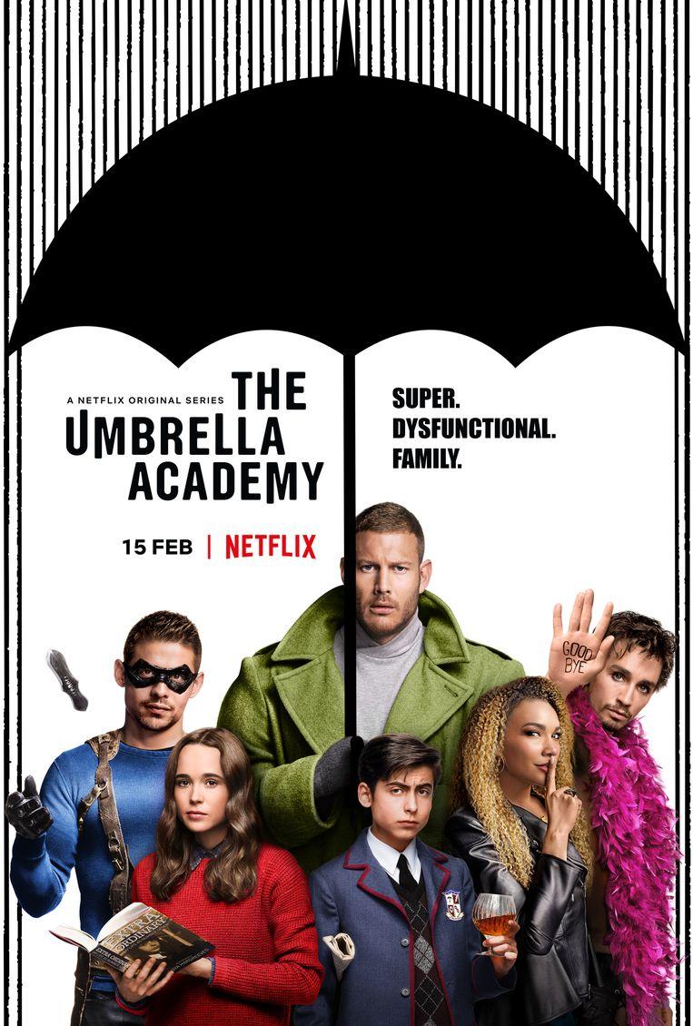 'The Umbrella Academy' komt terug naar Netflix.