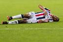 Tijdens de thuiswedstrijd tegen FC Groningen medio januari liep Driess Saddiki een bovenbeenblessure op.