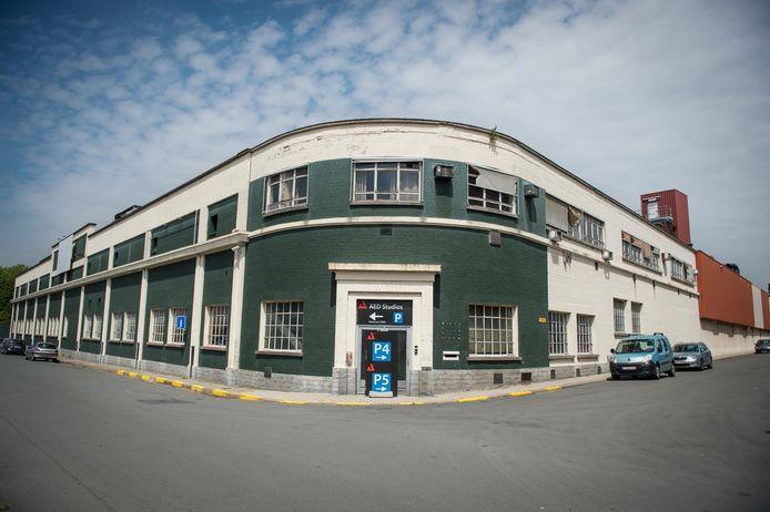 Het gebouw van Sobemi dat tegen de vlakte moet.