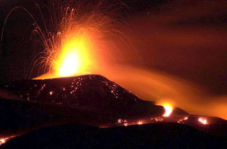 De Etna in 2006 Beeld epa