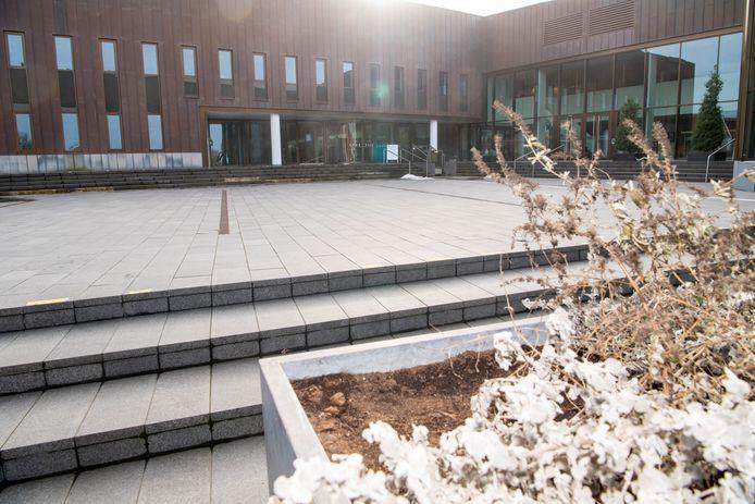 In het gemeentehuis van Dalfsen heeft positiviteit over de financiële gezondheid.
