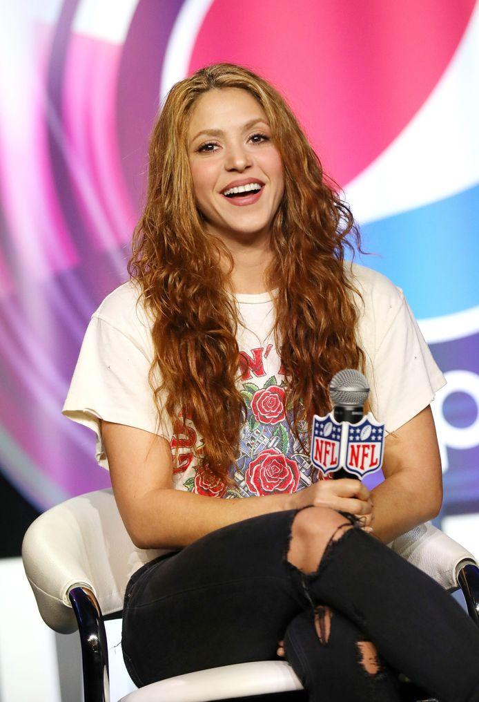 Shakira in 2020.