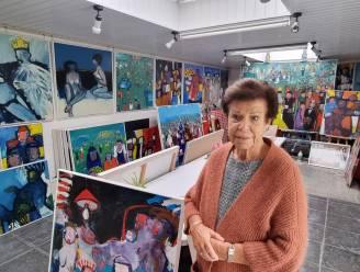 """Weduwe overleden Iepers kunstschilder Willy De Bever opent deuren atelier: """"Tot de laatste dag was hij bezig met zijn passie"""""""