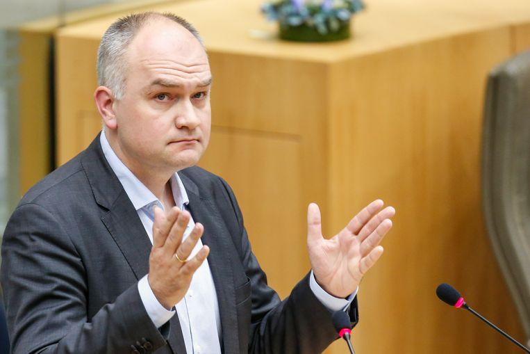 Bjorn Rzoska, fractieleider van Groen