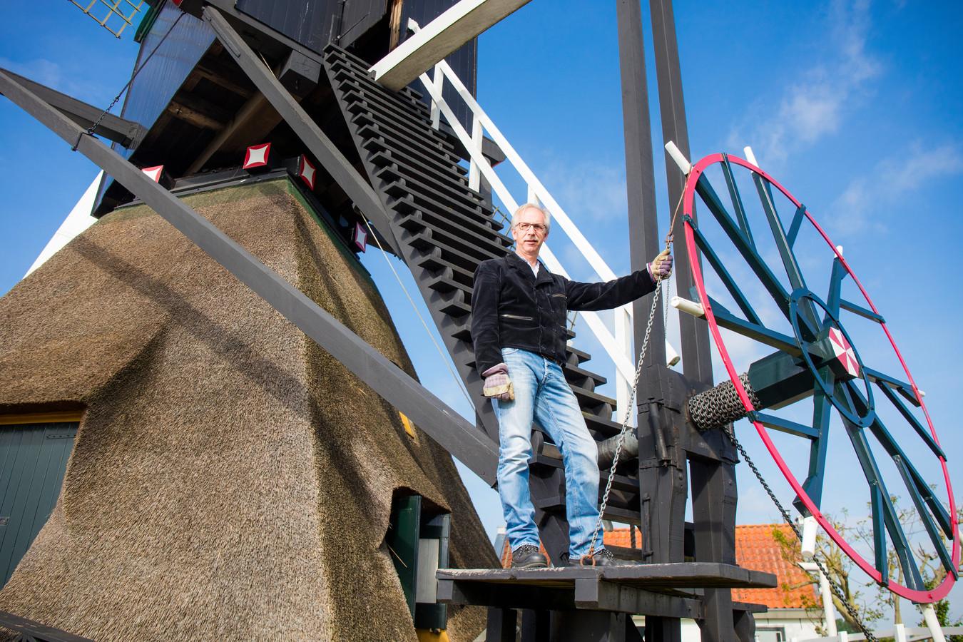 Pieter Koopmans is de nieuwe vaste molenaar van de Steektermolen.