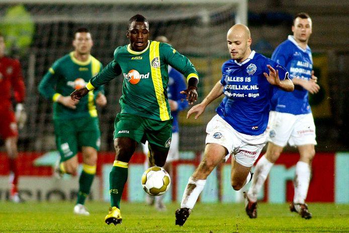 Steef Nieuwendaal op archiefbeeld in actie voor FC Den Bosch