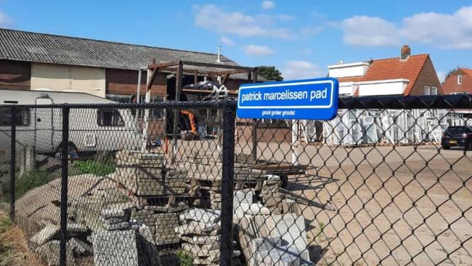 Pad naar de bouwhal heet voortaan Patrick Marcelissenpad