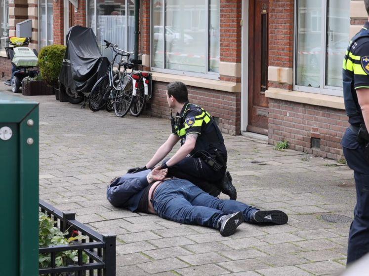 Politie verricht aanhoudingen in Den Haag na steekpartij